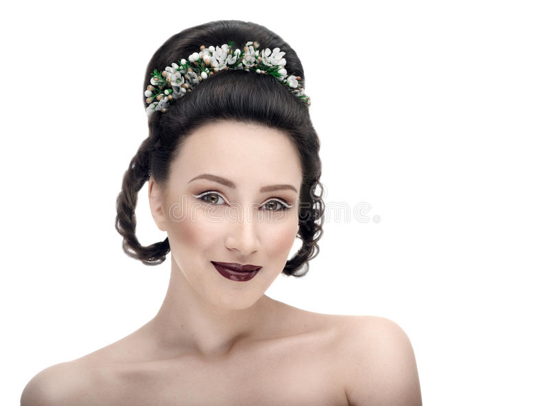 Noiva na antecipação fotografia de stock royalty free