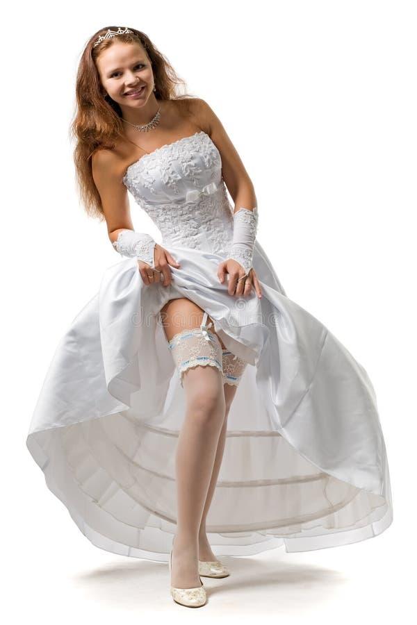 Noiva 'sexy' imagem de stock
