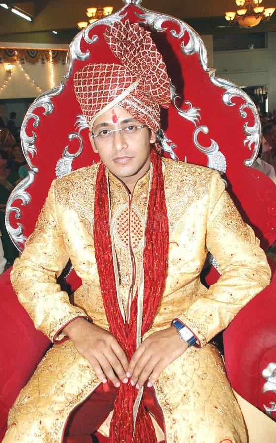 Noivo indiano imagens de stock