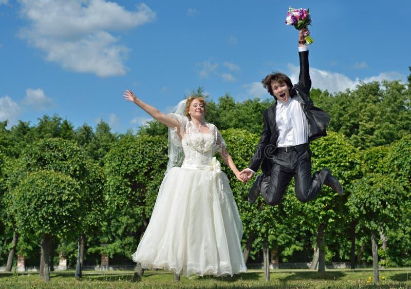 Noivo muito feliz imagem de stock royalty free