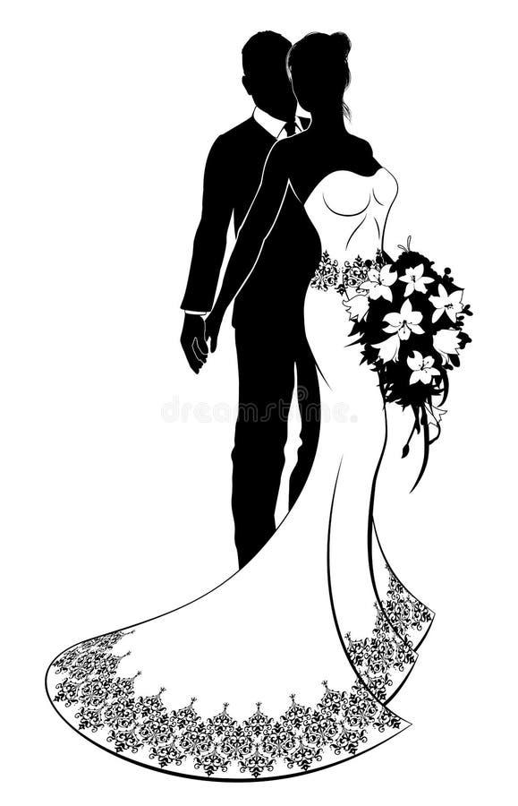 Noivos wedding silhouette ilustrao do vetor ilustrao de menina download noivos wedding silhouette ilustrao do vetor ilustrao de menina 112648695 junglespirit Gallery