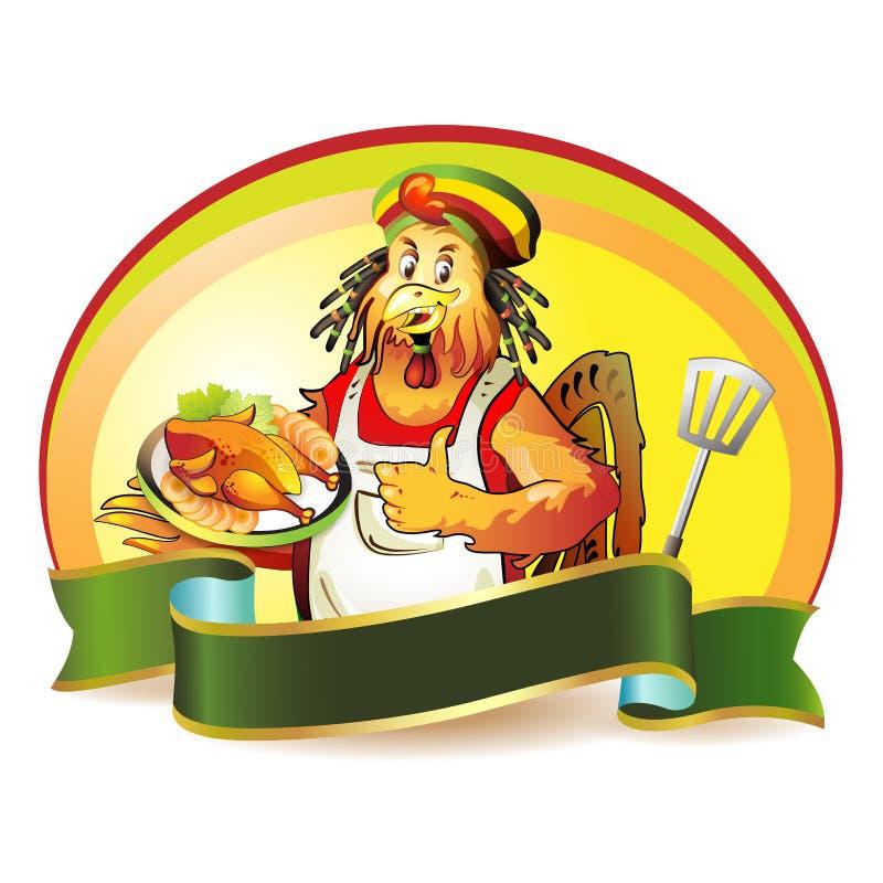 Noix de coco de cuisinier de dessin anim illustration de - Dessin noix de coco ...