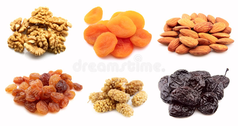 Noix et fruits secs photos libres de droits
