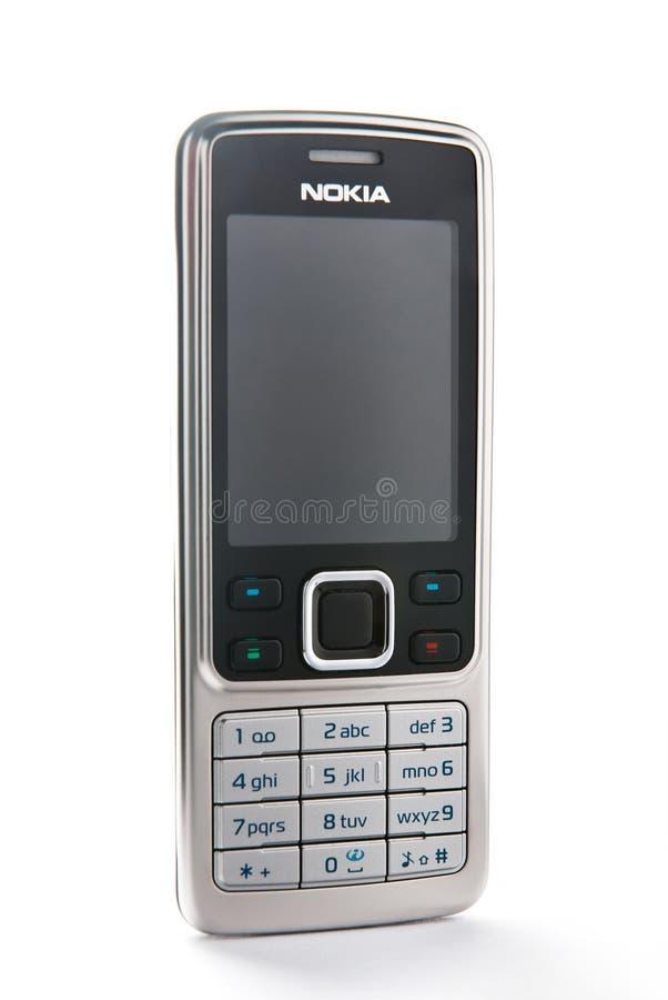 Nokia 6300 fotografia de stock royalty free