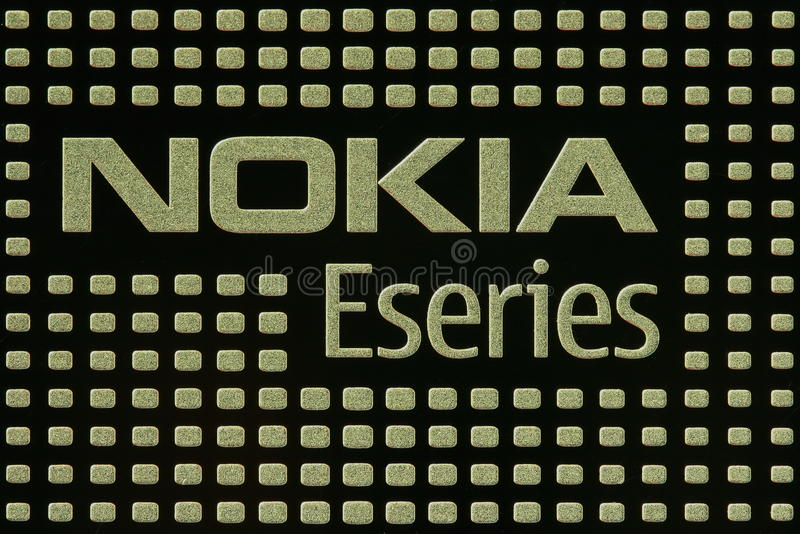 Nokia Eseries stock photo