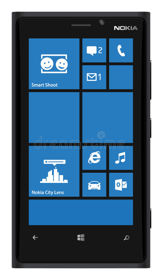 Nokia Smartphone Lumia 920 royalty free stock images