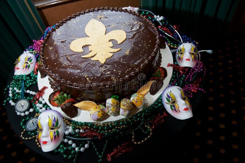 NOLA Groom's Cake royalty free stock photo