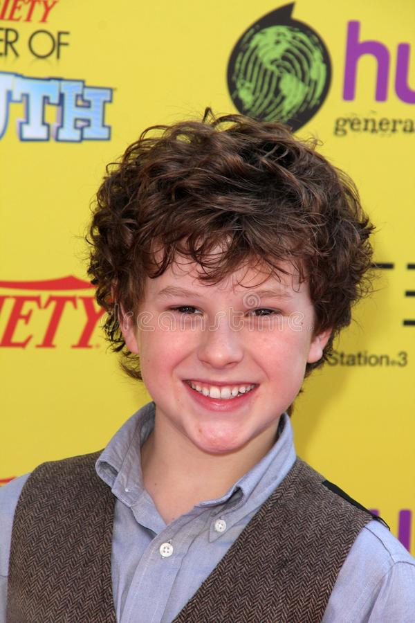 Download Nolan Gould editorial photo. Image of paramount, youth - 21784816