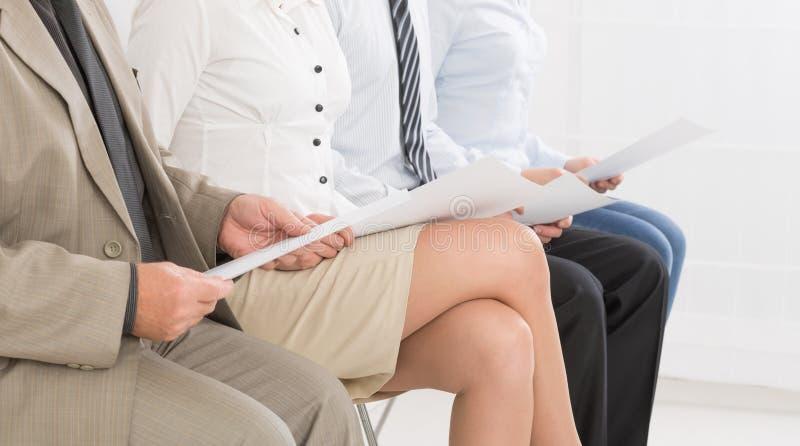 Noleggio di noleggio di reclutamento della recluta di assunzione - concetti immagine stock libera da diritti