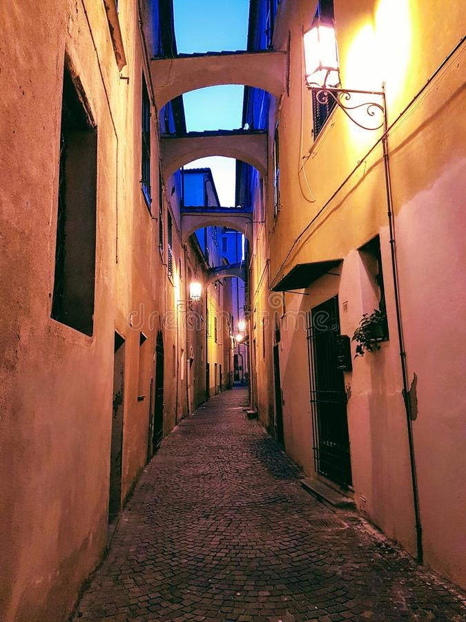 Noli, Liguria, Italia fotografie stock