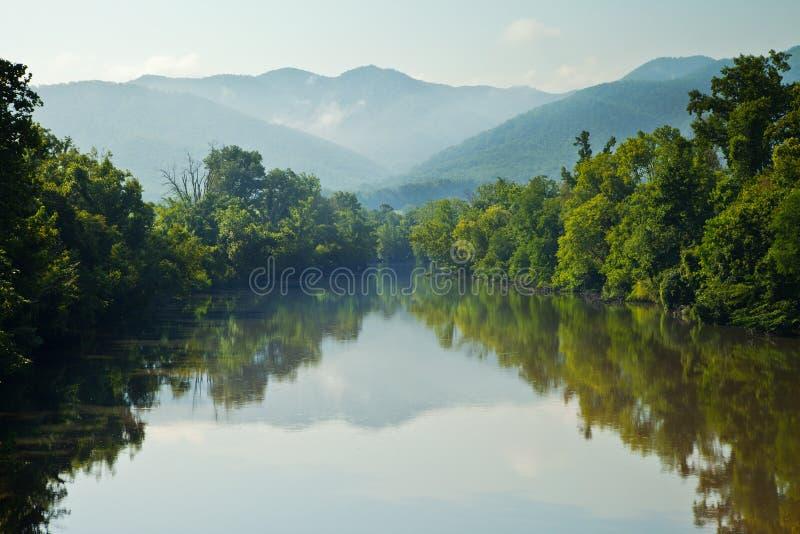 Nolichucky Fluss stockbild