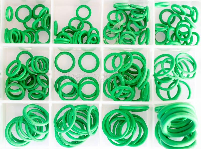 Nolla-cirklar i askuppsättningen royaltyfri fotografi