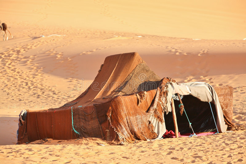 Download The Nomad (Berber) Tent Royalty Free Stock Photo - Image: 7682585