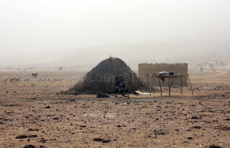 nomades de désert photo libre de droits