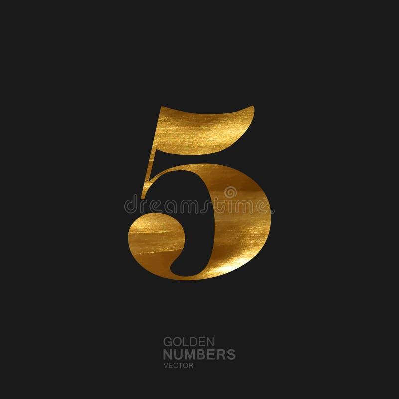Nombre d'or 5 illustration stock