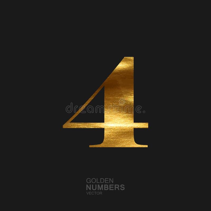 Nombre d'or 4 illustration de vecteur
