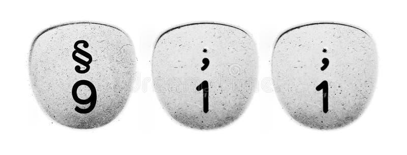 nombre de 911 concepts de machine à écrire de boutons images libres de droits