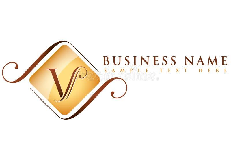 Nombre de V_company ilustración del vector