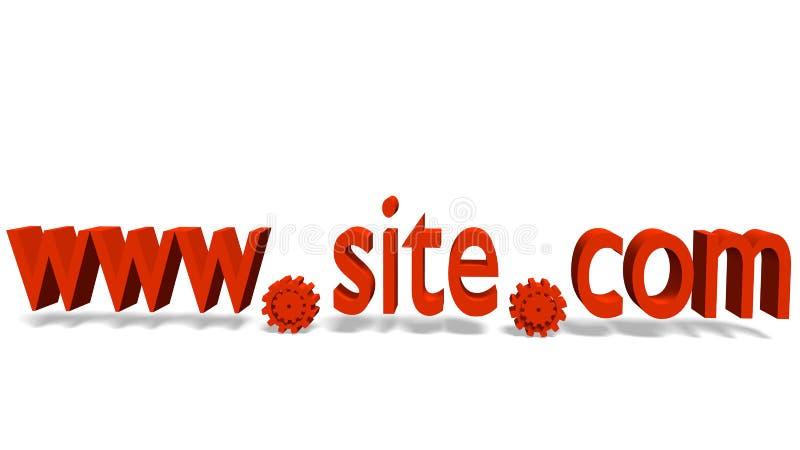 Nombre del sitio libre illustration