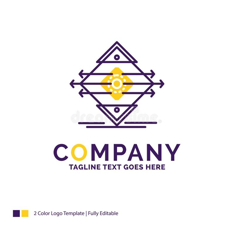 Nome da empresa Logo Design For Traffic, pista, estrada, sinal, segurança ilustração royalty free