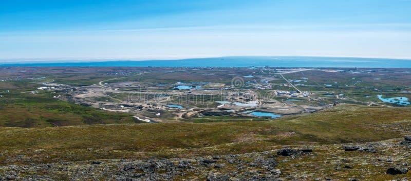 Nome Panorama royalty free stock photos