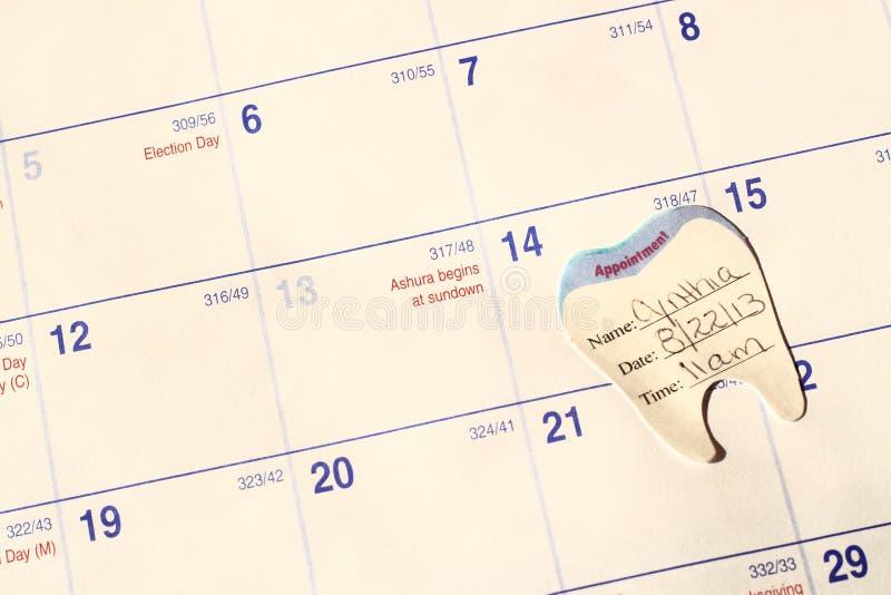 Nomeação dental foto de stock