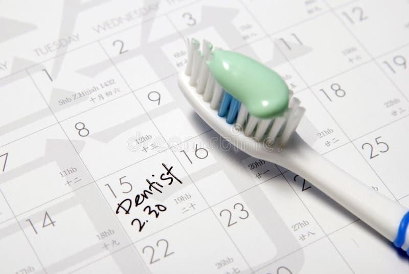 Nomeação do dentista foto de stock royalty free