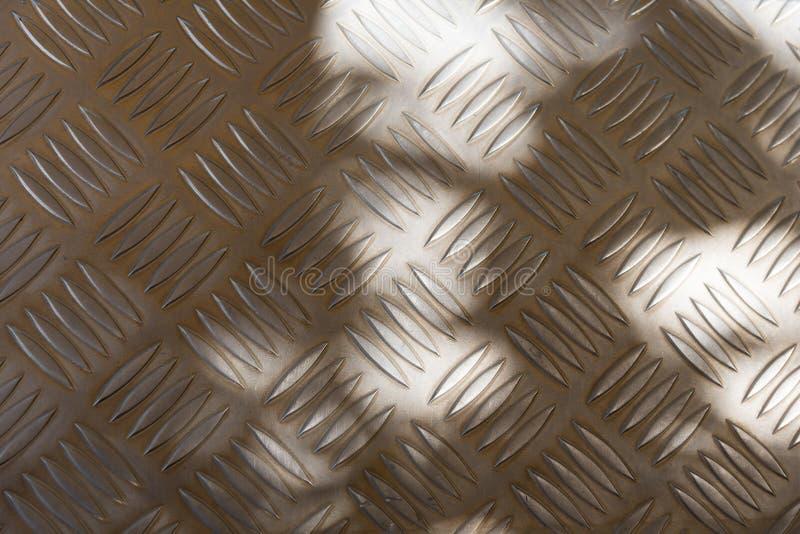 Non ślizganie stalowy greting stalowy krok zdjęcie stock