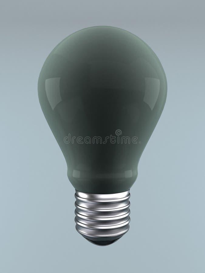 Non прозрачная электрическая лампочка стоковое изображение