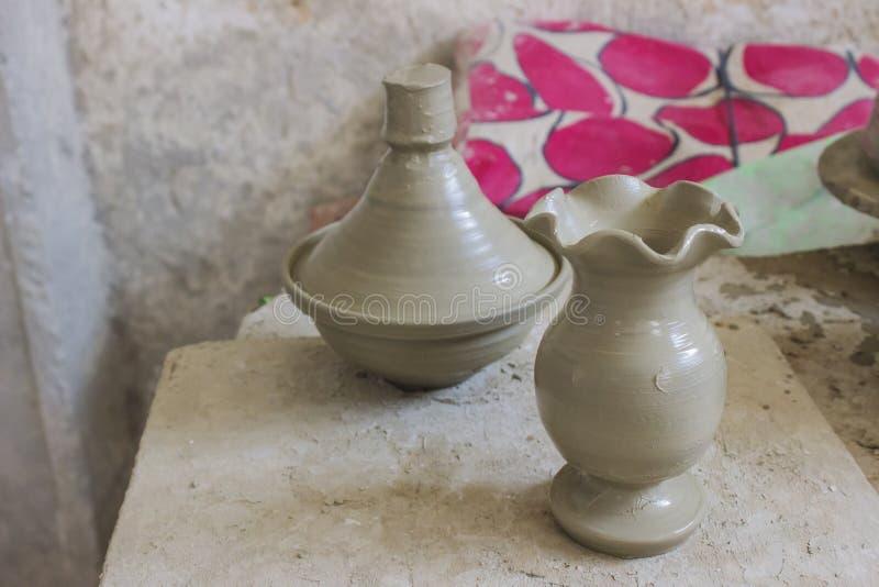 Non ancora un vaso, ma non argilla fotografia stock libera da diritti