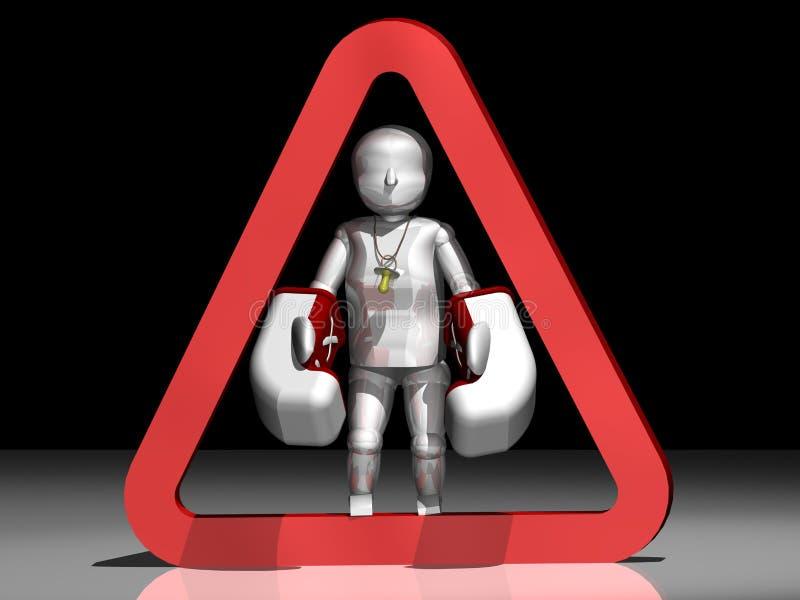 Non danneggi i bambini illustrazione vettoriale