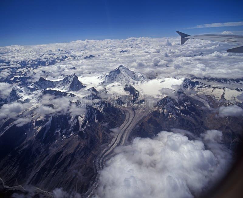 Non en Kun, Himalyan Waaier, Ladakh stock afbeeldingen