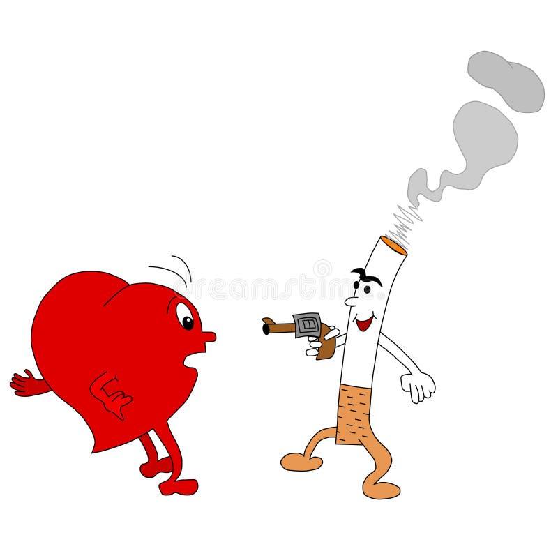 Non fumatori illustrazione di stock