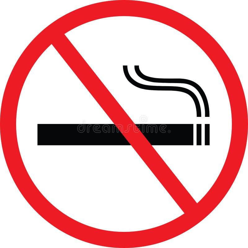 Non fumatori illustrazione vettoriale