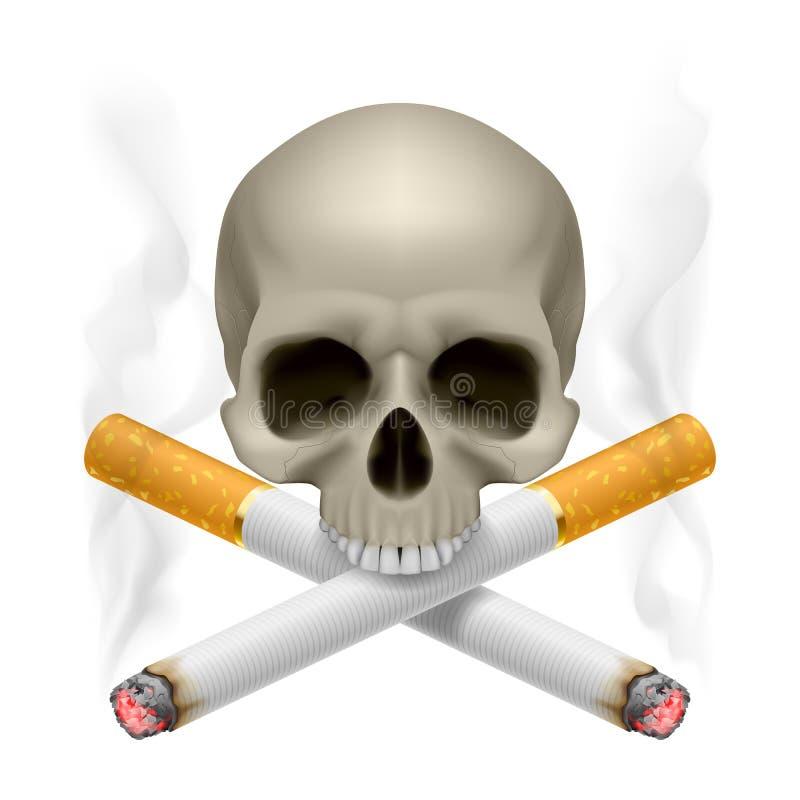 Non-fumeurs. illustration stock