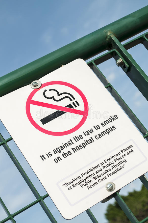 non-fumeurs mort image libre de droits