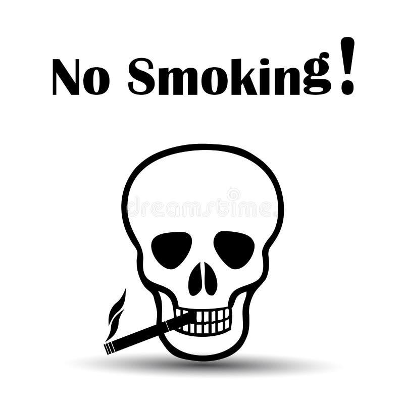 Download Non-fumeurs mort illustration de vecteur. Illustration du death - 45354847