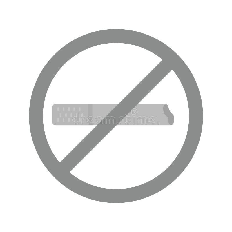 non-fumeurs mort illustration libre de droits