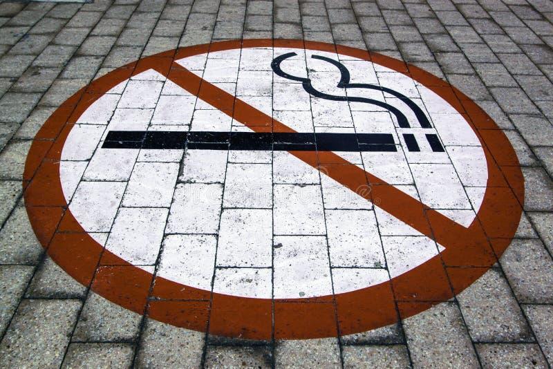 Non-fumeurs signez dedans Cape Town photo libre de droits