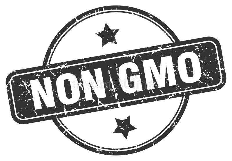 Non gmo stamp. Non gmo grunge vintage stamp isolated on white background. non gmo. sign stock illustration