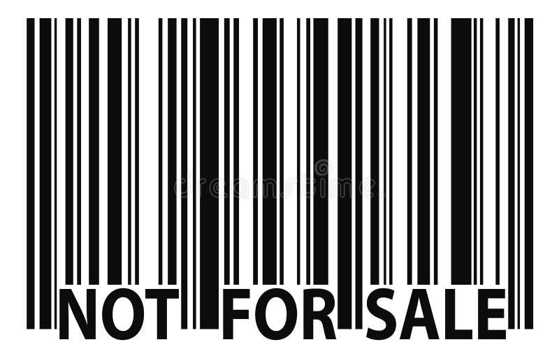 Non per la vendita illustrazione vettoriale
