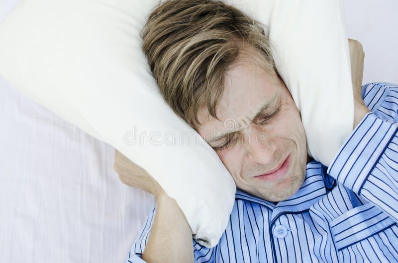 Non Può Dormire Fotografia Stock
