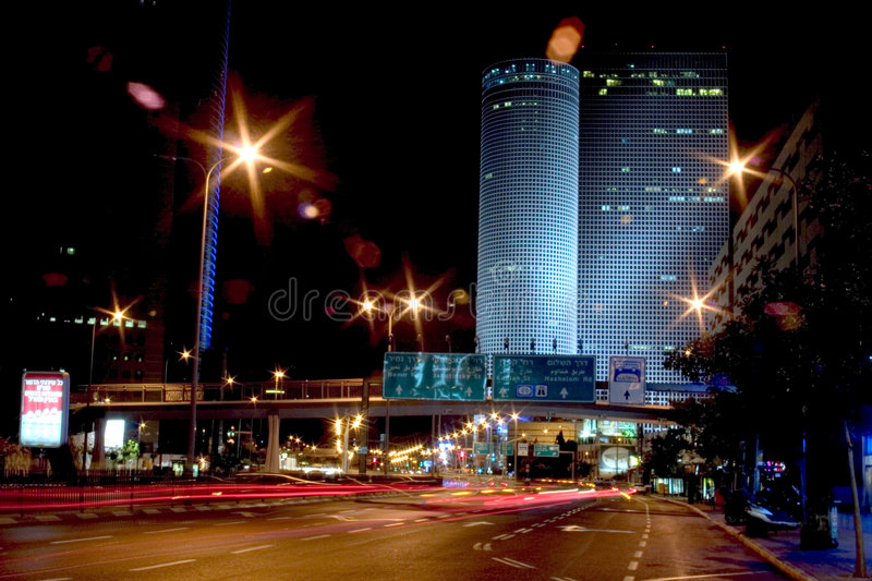 Non stop city stock images