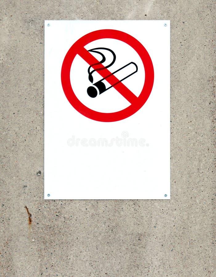 non teckenrökning arkivbilder