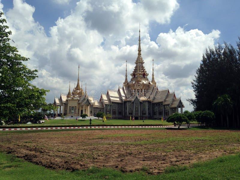 Non tempio di Kum in Nakhon Ratchasima, Tailandia fotografia stock libera da diritti