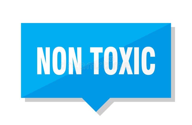 Non toksyczna metka ilustracja wektor