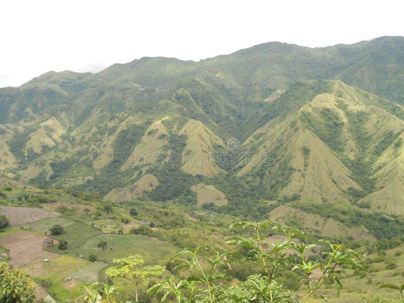 Nona Mount, Enrekang, Sulawesi du sud photographie stock libre de droits