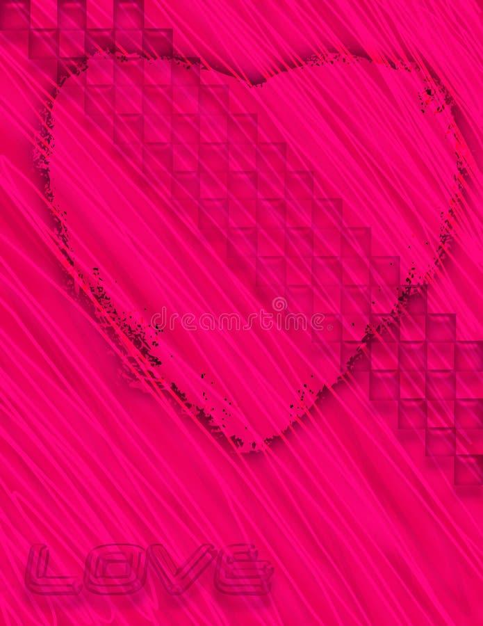 Download 爱 库存例证. 插画 包括有 背包, 例证, 背包徒步旅行者, 艺术, 粉红色, 重点, 情感 - 182750