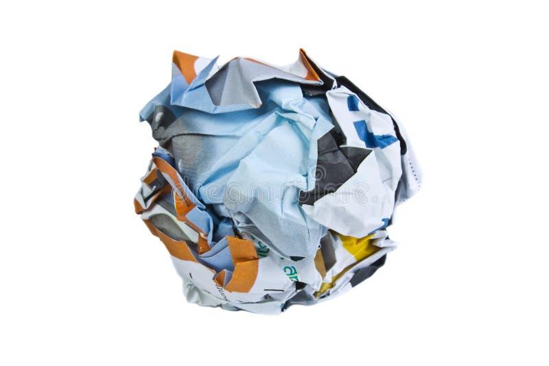 Download 纸 库存图片. 图片 包括有 报废, 拧紧, 便条, 文书工作, 回收, 毁坏, 旧货, 办公室, 弄皱 - 30326873