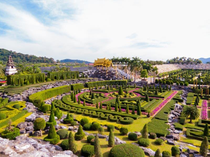 Nong Nooch Tropical Botanical Garden, Pattaya, Thailand stock images